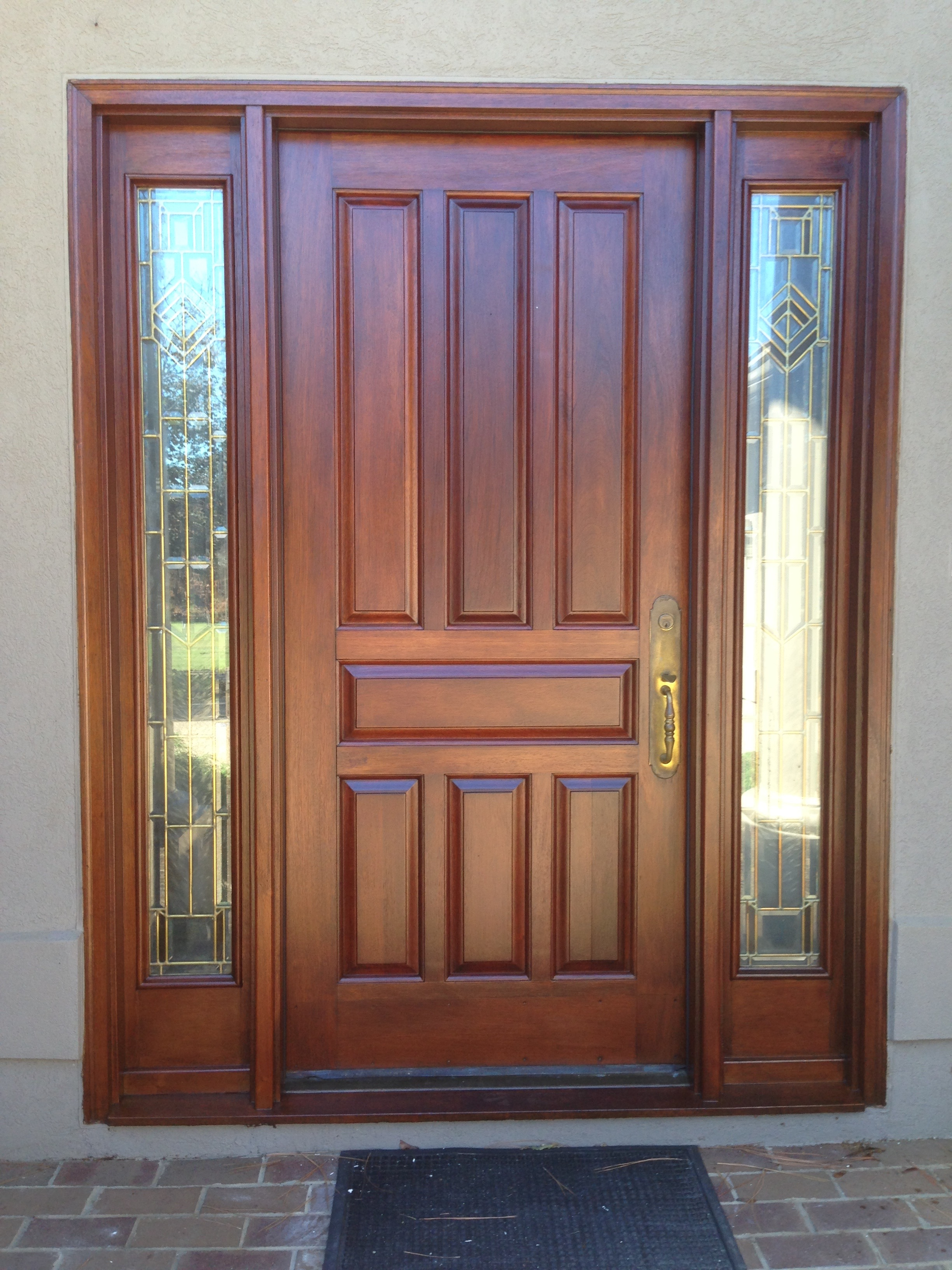 Refinishing A Front Door