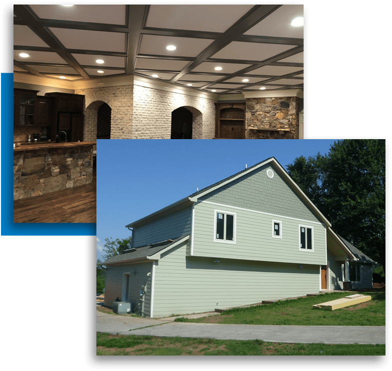 interior painting and exterior painting